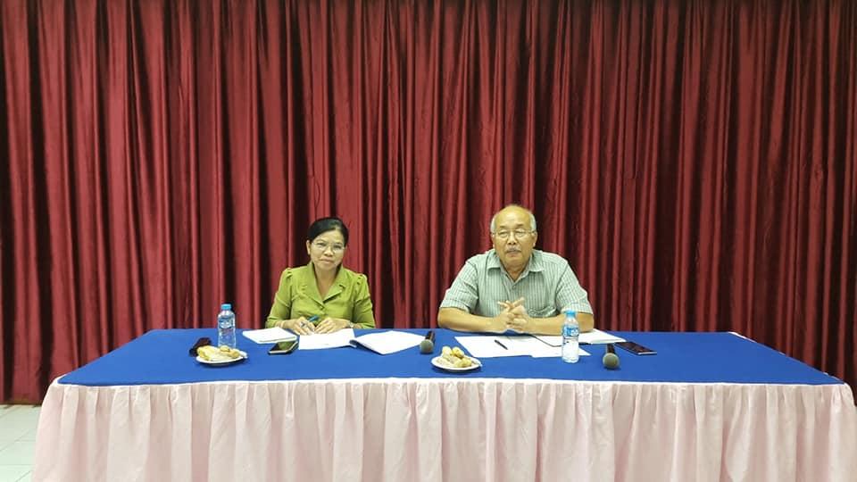 Oversight field visit in Luangprabang