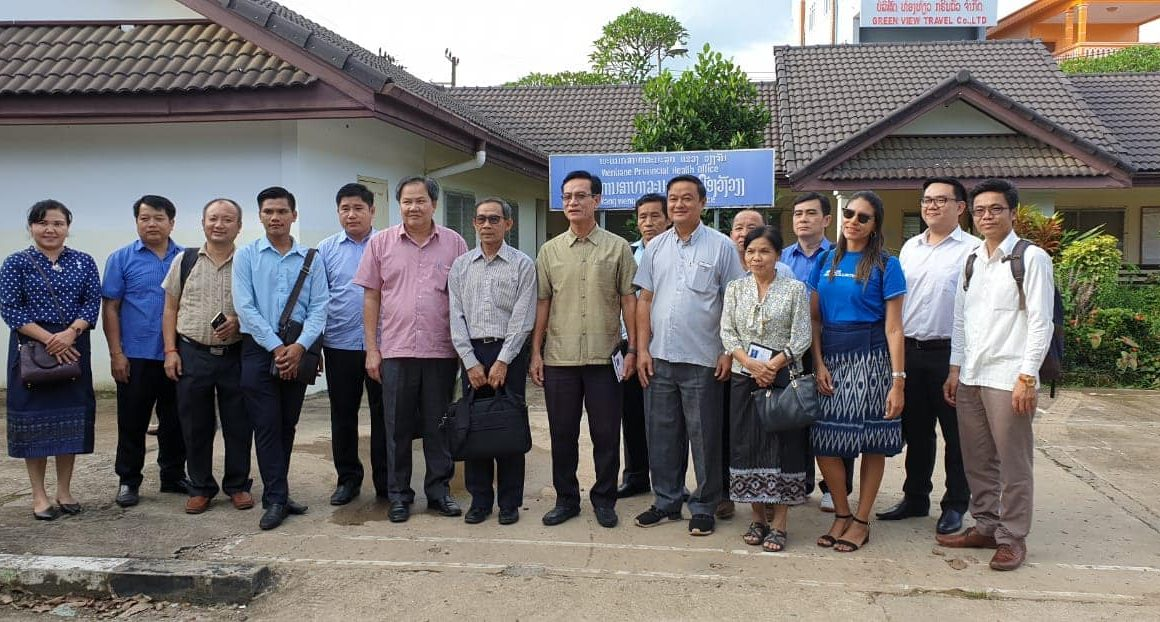 Oversight Field Visit in Vientiane Province: