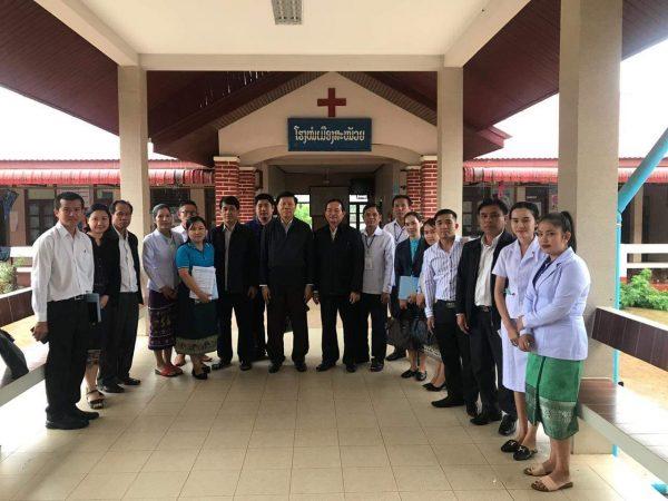 Oversight field visit in Salavan Province  2 – 6 September 2019