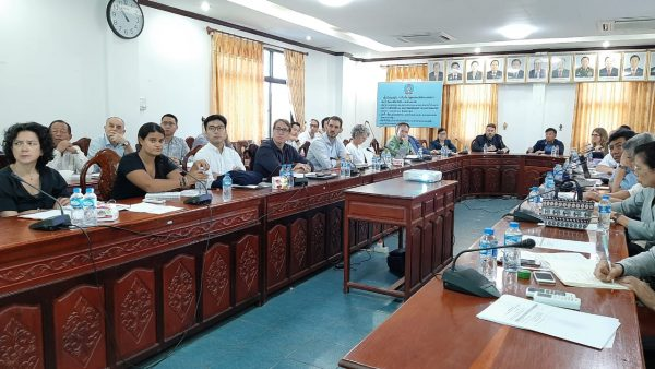 Debrief meeting of the Global Fund Mission with ExCom, OC, RMC, and partners on 28 November 2019